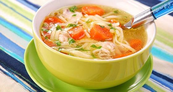 دستور پخت سوپ ساده