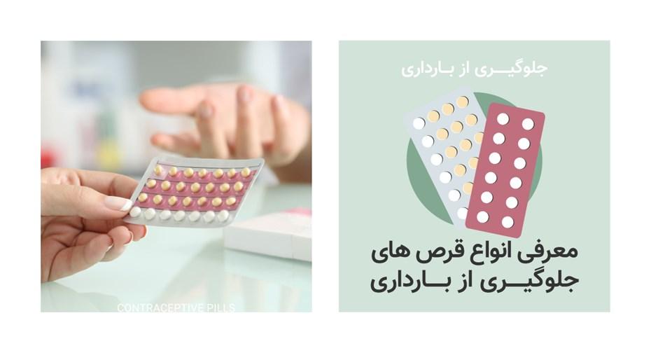 معرفی انواع قرص های جلوگیری از بارداری