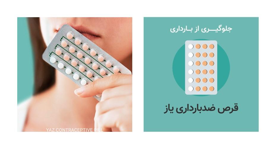 قرص ضدبارداری یاز