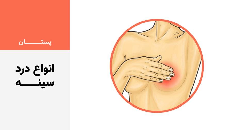 انواع درد سینه