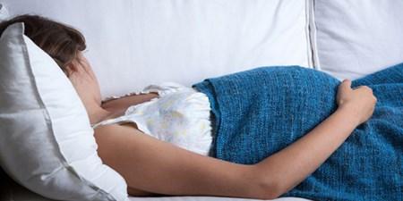نحوه صحیح خوابیدن در بارداری